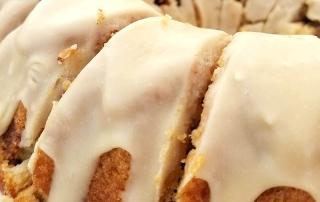 gluten free caramel apple bundt cake